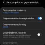 Hoe kan ik... Een datalimiet instellen (voor internet) op mijn smartphone / tablet?